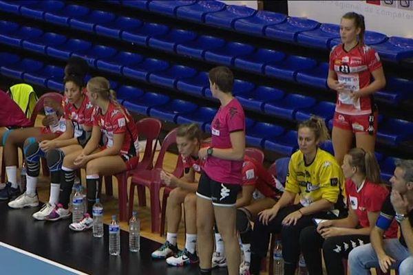 Reprise du championnat de LFH pour les handballeuses de Besançon