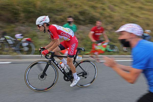 Guillaume Martin, leader de l'équipe Cofidis le 5 septembre 2020 sur le Tour de France