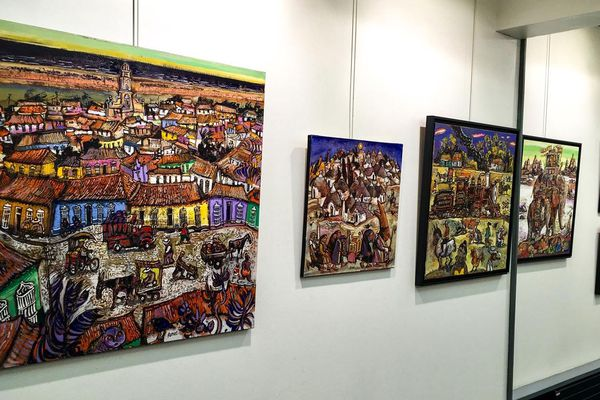 La galerie Rollin expose  Ronel