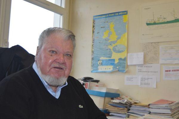 Yves L'Helgoualc'h, secrétaire général du syndicat CGT des marins à Concarneau