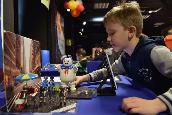 """Les """"petits ateliers"""" permettent aux enfants de tourner leur premier court-métrage d'animation"""