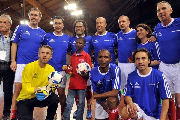 Defis du sport match de gala France 98 vs. CDES (20.04.2016) à Limoges Beaublanc