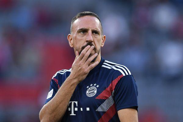 Franck Ribéry,le 6 novembre 2018