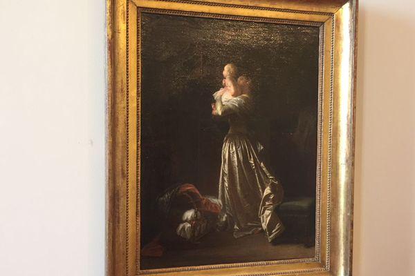 L'oiseau chéri, huile sur toile de Jean-Honoré Fragonard, a été retrouvé en 2017.