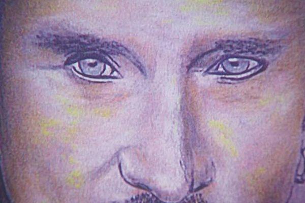 Un dessin de Johnny Hallyday signé Michaël Cannet