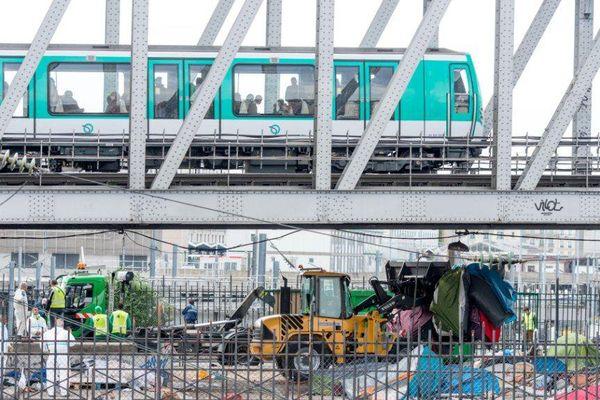 La ligne 2 du métro (image d'illustration).