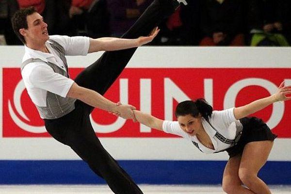 Bruno Massot et Daria Popova, Budapest, championnat d'Europe, janvier 2014
