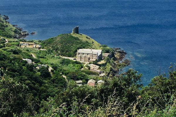 Le couvent de Pino dans le Cap Corse (Haute-Corse)