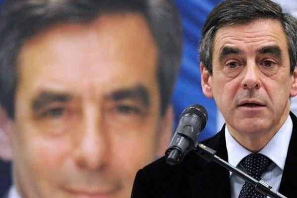 François Fillon à Toulouse pendant la campagne de la primaire à droite
