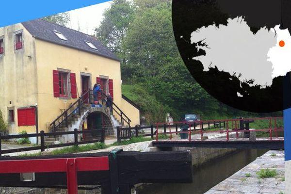 La maison éclusière à Boutron a vu naître un atelier d'artiste. En Ille-et-Vilaine, celle de Trévérien attend aussi elle de devenir un gîte d'étape.
