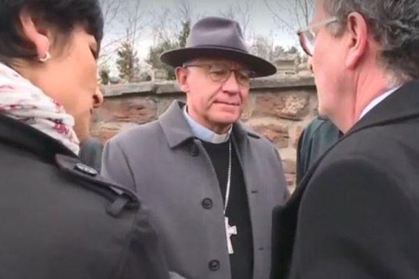 L'archevêque de Strasbourg s'est rendu sur place.