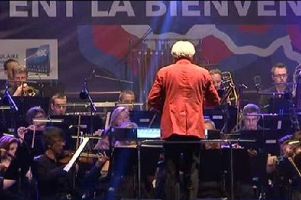 Remarquable prestation de l'orchestre national de Lorraine dirigé par Jacques Mercier.