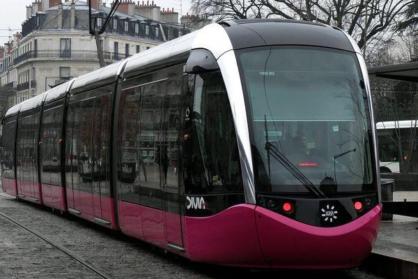 Un tramway du réseau Divia de Dijon en 2013. (Illustration)
