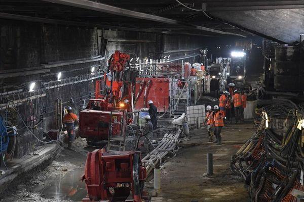 Chaque été, des travaux d'ampleur sont menés sur le réseau francilien, comme ici sur le RER C en juillet 2019.