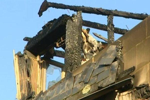 Incendie dans un immeuble de Brive