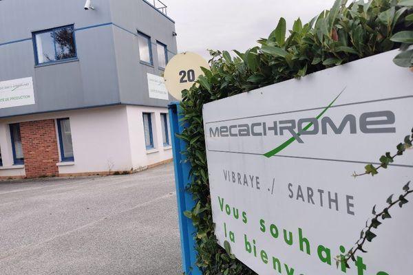 Le site Mécachrome de Vibraye, dans la Sarthe.