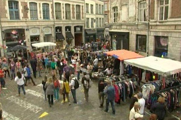 Rue des Bouchers, à Lille.