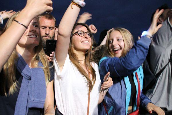 Des fans enthousiastes