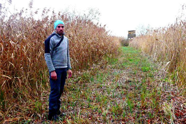 Alexandre Antoine, conservateur de la réserve naturelle nationale de l'étang de la Horre, dans l'Aube.