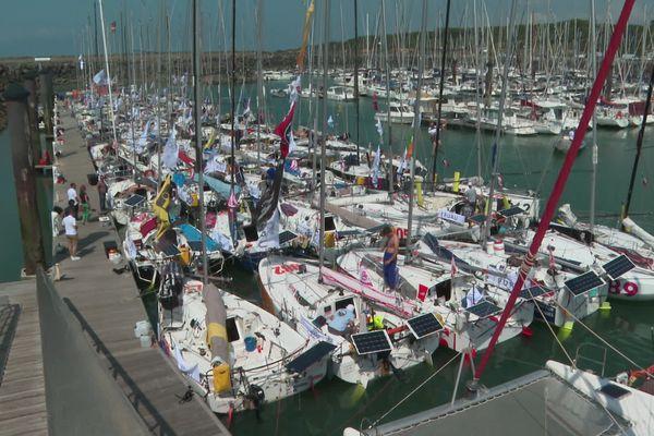 La flotte de 73 bateaux s'élancera du port Bourgenay vers l'Espagne, avant une deuxième étape le 3 août.