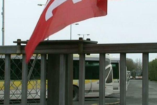 Comme fin avril, une partie des bus de la RTCR sont restés au dépôt