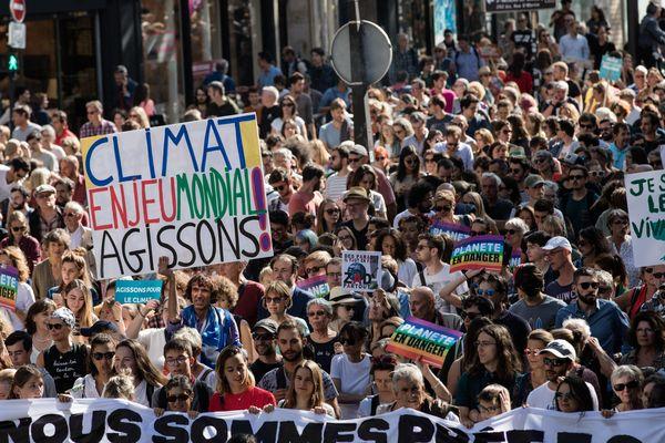 La marche pour le climat, le 8 septembre à Paris.
