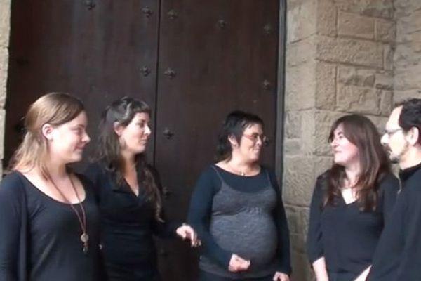 Le groupe polyphonique Tornaveus