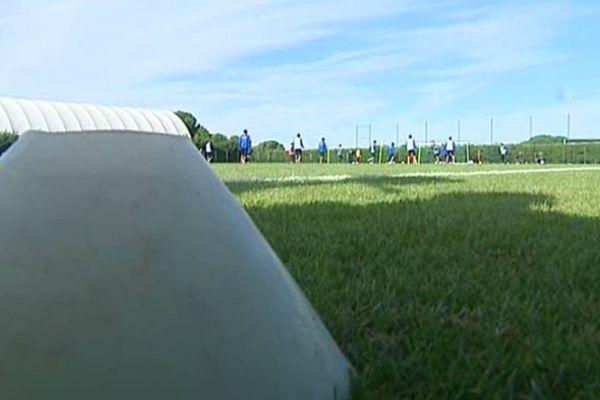 Montpellier - entraînement du MHSC avant le match de coupe de la Ligue contre Bordeaux - 30 octobre 2012.