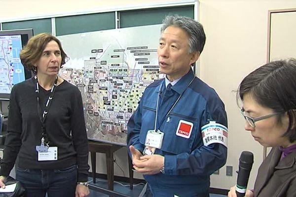 Le vice-président de Tepco avait reçu une délégation normande à Fukushima il y a quelques mois. Il a effectué le voyage en sens inverse afin d'observer le fonctionnement d'une Commission Locale d'Information.
