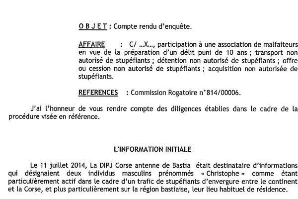 C'est un renseignement anonyme qui a mis les enquêteurs sur la piste de Christophe Guazzelli et de Christophe Andreani.