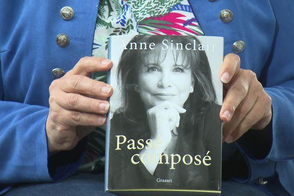Anne Sinclair, Passé composé, le livre choisi par Nathalie de Broc