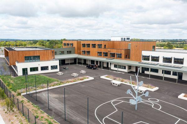 Le Département de Loire-Atlantique ouvre un nouveau collège à Loireauxence cette rentrée 2021