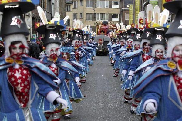 Le carnaval d'Alost en 2014.