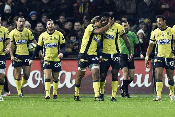 Après la dernière rencontre contre Toulon en Top 14, le 8 janvier dernier, les clermontois ont le sourire. Une belle victoire qu'ils voudraient reproduire au stade Michelin pour le quart de Champions Cup le 2 avril.