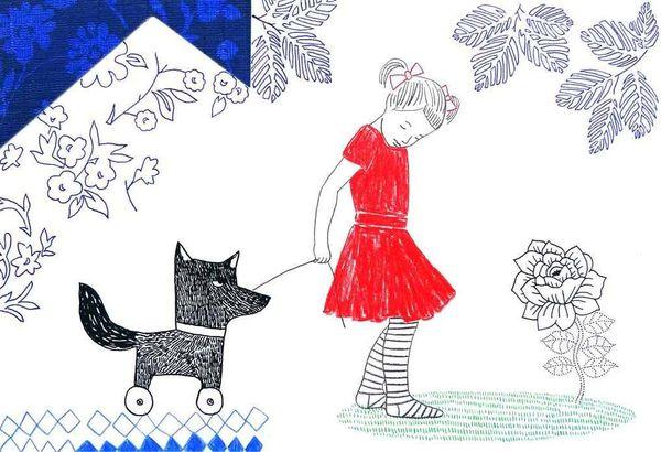A pas de loups d'Audrey Calleja
