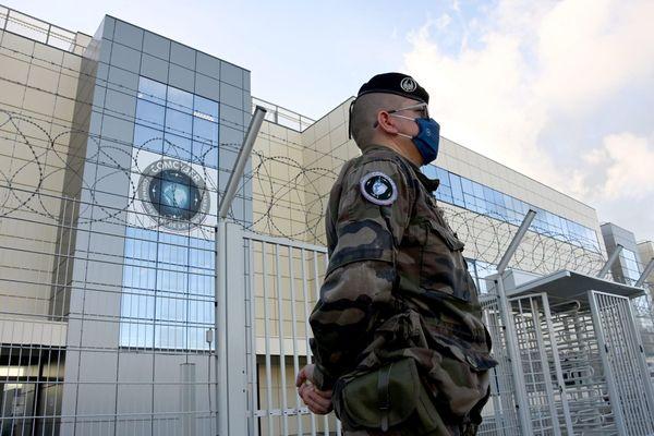Le site du groupement de cyberdéfense des armées à Saint-Jacques-de-la-Lande en Ille-et-Vilaine