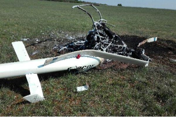 L'appareil qui s'est écrasé est un gyrocoptère, c'est-à-dire un petit hélicoptère type ULM