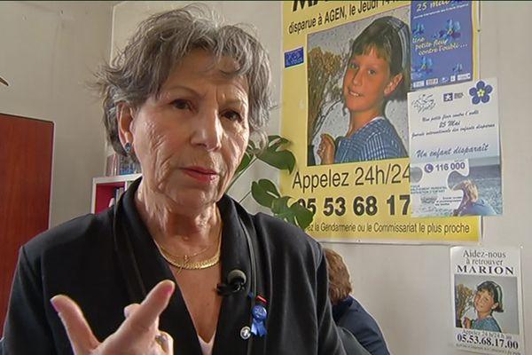 """Annie Gourgue, Présidente fondatrice de l'association """"la mouette"""" à Agen"""