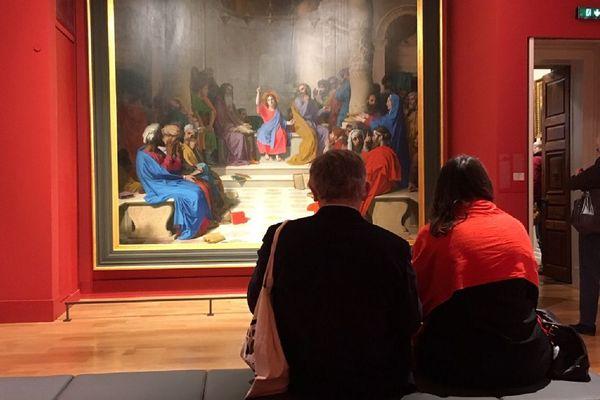 Le musée Ingres avait rouvert ses portes au public le 13 décembre 2019 après trois ans de travaux.