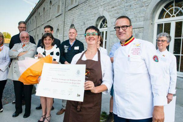 Véronique Socié désignée meilleur fromager de Belgique