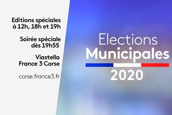 Le 28 juin, dans le cadre du second tour des élections municipales, un journal télévisé et trois éditions spéciales ont été organisés par France 3 Corse ViaStella