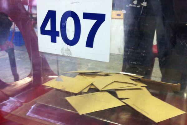 Le bureau 407 à Besançon, Doubs.