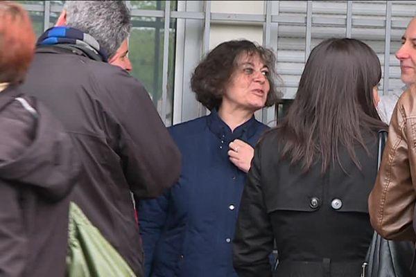 Ce jeudi matin à Toulouse, des grévistes des Finances Publiques
