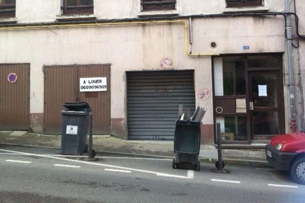 Le corps a été retrouvé dans cet immeuble, 18 montée St Marcel