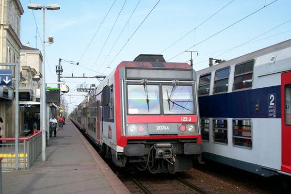 RER D (Illustration)