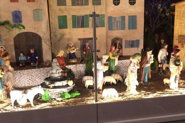 La crèche de la mairie de Béziers - 4 décembre 2017