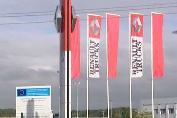 L'usine Renault Trucks de Blainville-sur-Orne