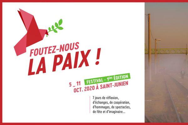 """L'affiche de """"Foutez-nous la paix!"""""""