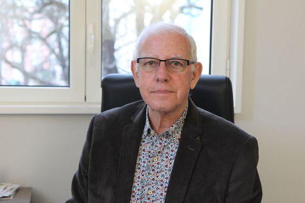 Le maire de Bédarieux Francis Barsse élu en 2020 défend sa ville