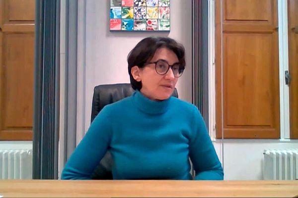 Sophie Pantel, présidente PS du Conseil départemental de la Lozère.